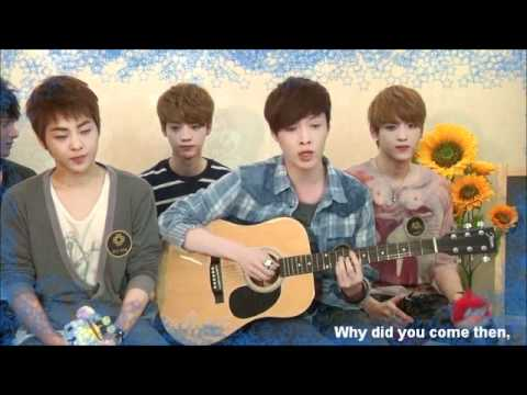 [120420] Exo-M Lay/YiXing singing 新不了情/New Endless Love (Eng subs)