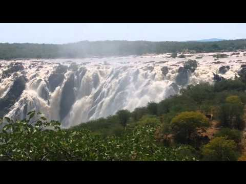 Ruacana Waterfall Namibia/Angola border