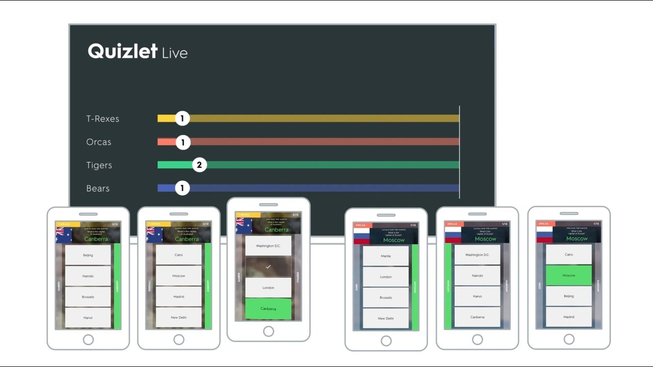 How to play Quizlet Live - YouTube