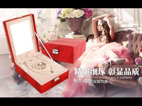 Handmade Jewelry Display Boxes, mini faux fashion jewlery boxes