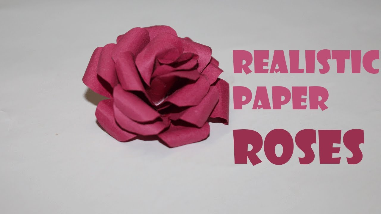 Origami 3d rose flower making how to make paper rose paper rose origami 3d rose flower making how to make paper rose paper rose tutorial dhlflorist Image collections