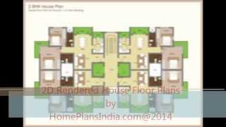 2d Rendered House Floor Plans And Designs