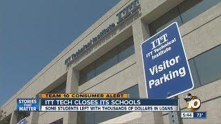 Students React To Sudden Closure Of ITT Tech Schools