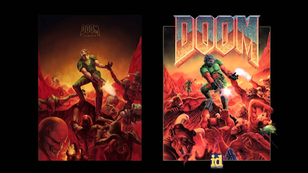 How To Make A Wallpaper App For Iphone Doom At Doom S Gate E1m1 Remake By Andrew Hulshult