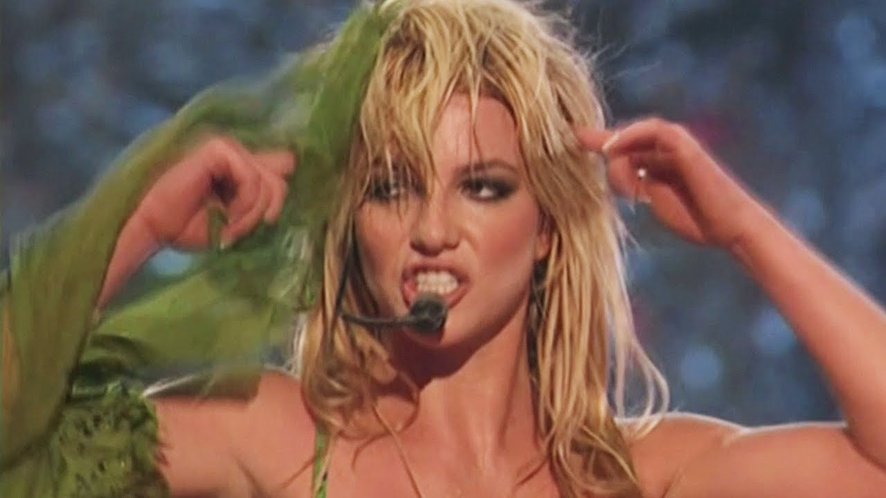 Britney Spears I M A Slave 4 U Live From Las Vegas 2001 Youtube