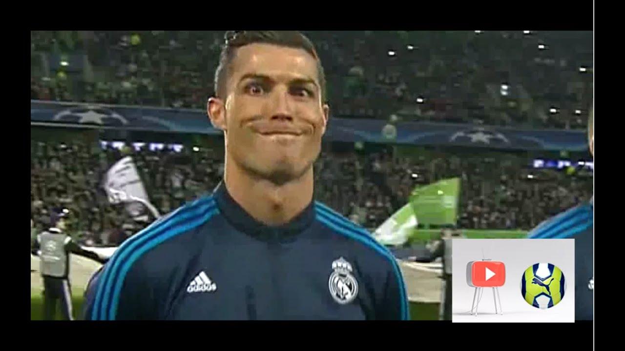 Cristiano Ronaldo Funny Face