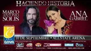 Marco Antonio Solis & Ana Gabriel On Sale Now