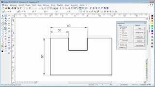 DesignCAD (Einfaches Werkstück)