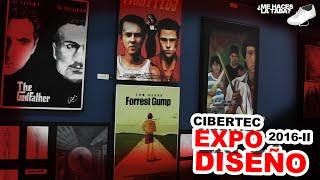 Exposición de Diseño en Cibertec Miraflores - Me Haces la Taba