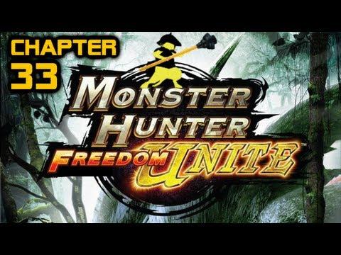 Let's Play Monster Hunter Freedom Unite - Part 33 [Kushala Daora]