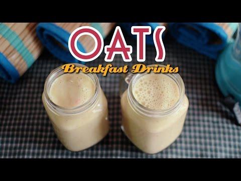 Oats and Fruits Breakfast Drinks | Yummy Nepali Kitchen