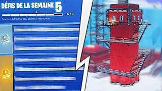 Les Défis de la Semaine 5 (Saison 7) de Fortnite Battle Royale !