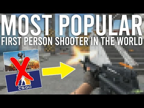 The most popular FPS game in the world will surprise you.