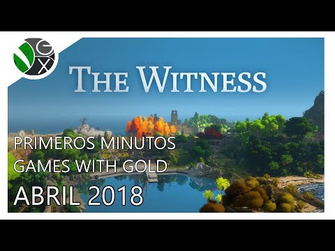 Primeros Minutos / Games with Gold Abril 2018 / The Witness