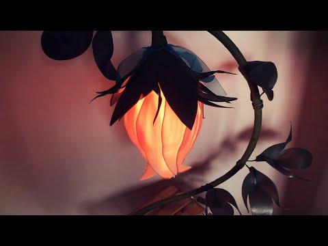 Сказочный колокольчик из изолона. 2 вида