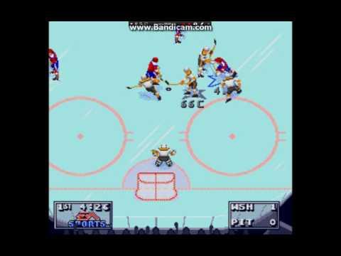 NHL 1995 washigton vs piter  1-0
