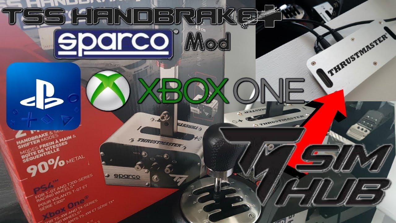 TSS Handbrake Sparco Mod PS4 y Xbox One y TM SimHub