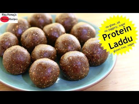 protein-laddu---tasty,-healthy-&-nutritious-ladoo-recipe---no-jaggery/sugar/ghee/oil-skinny-recipes