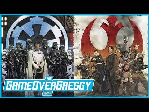 Rogue One's Gary Whitta  The GameOverGreggy  Ep. 159 Pt. 1