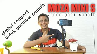 UNBOXING GIMBAL MOZA MINI S FOR SMARTPHONE