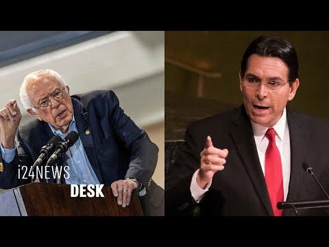 Israeli UN Ambassador Danny Danon Slams Bernie Sanders (Again) For Calling Netanyahu A 'racist'