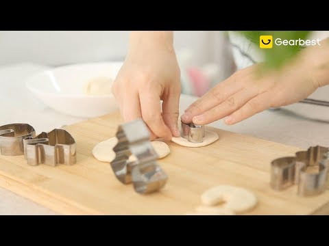 Cookie Cutter Mold Set Stainless Steel Fondant Cake Mould - Gearbest.com
