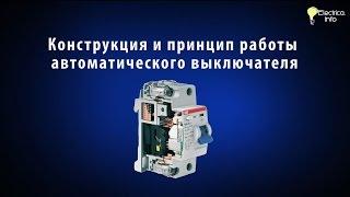 видео Устройство и принцип работы автоматического выключателя