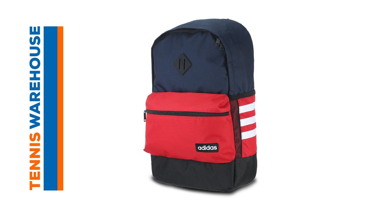 adidas Classic Backpack - YouTube e4bb223bb962c