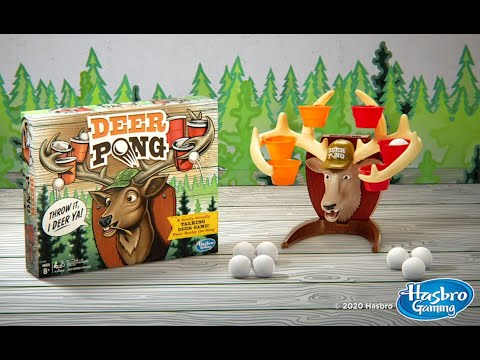 HASBRO-DEER-PONG-GAME