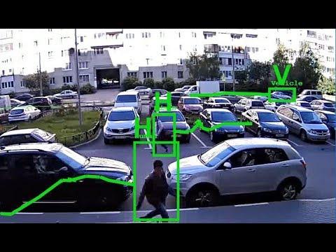 Vehicle / pedestrian classifier & detector software