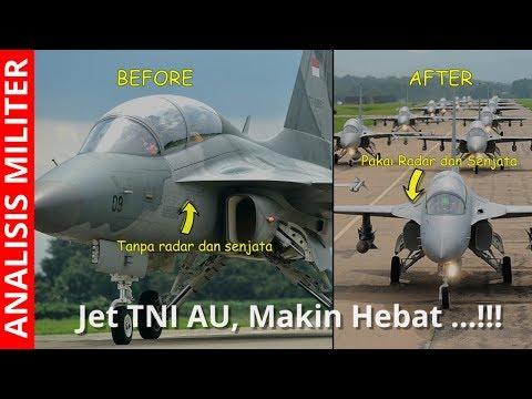 Makin Hebat, Indonesia Pasang Radar Dan Senjata Pesawat Tempur T-50i Golden Eagle
