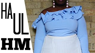 HM SUMMER CLOTHING TRY ON HAUL + CLOSET SALE PREVIEW I PLUS SIZE FASHION