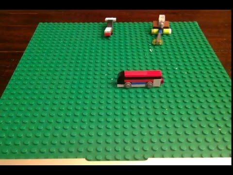 The lego mini bus  number 3