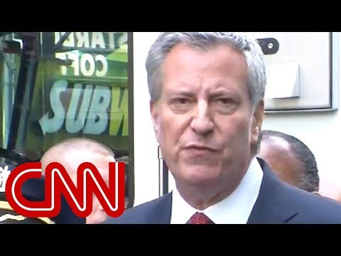 NY Mayor de Blasio: This is clearly an act of terror