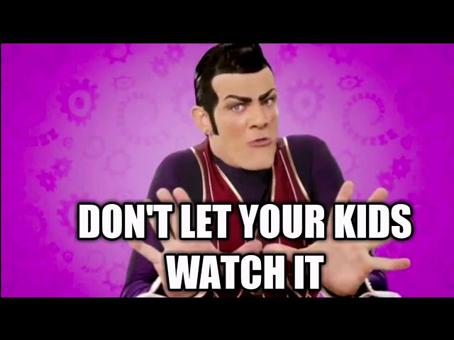 Dont let your kids watch it but is sound