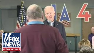 Biden's heated exchange with Iowa voter over Hunter Biden's work in Ukraine