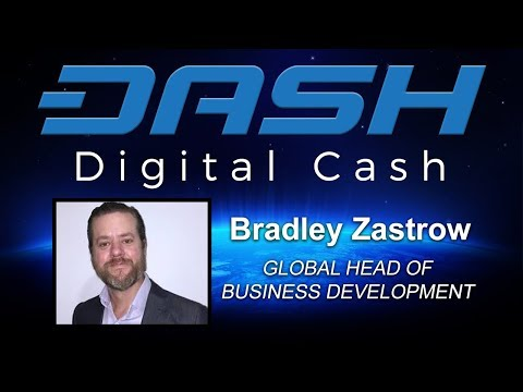 Interview With Dash Core Director Of Business Development Bradley Zastrow