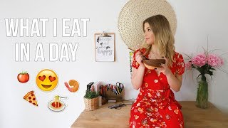 WHAT I EAT IN A DAY (JOURNÉE MAISON) 🍌