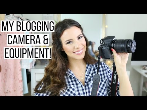 My Blogging Equipment & Programs I Use!  hayleypaige