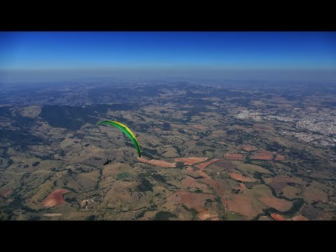 Paragliding World Cup - Brazil (2017) | Task 4 - chasing the group