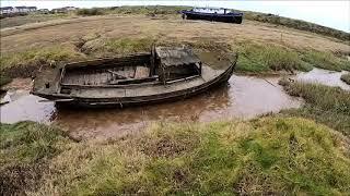 The Duddon Estuary shifting sands, Cumbria 2019