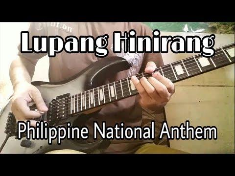 Lupang Hinirang (Guitar Instrumental) - JD Perey (June/10/2015)