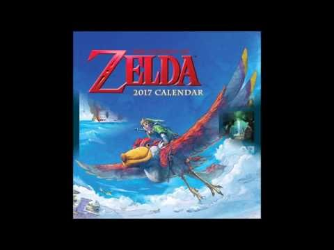 Ultimate Zelda Collection - US Calendar 2017 Sealed