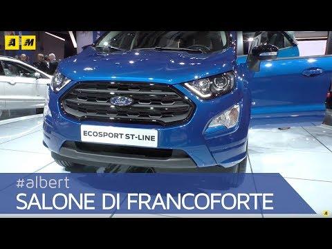 Nuova Ford EcoSport 2018, il restyling del B-SUV dell'ovale blu