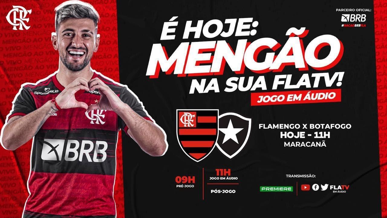 Flamengo X Botafogo Brasileirao 2020 Ao Vivo Youtube