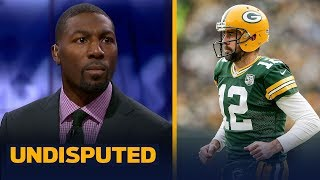 Greg Jennings disagrees Aaron Rodgers is 'overrated,' says he's a Top-5 QB | NFL | UNDISPUTED