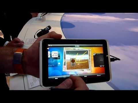 HTC Flyer Kurztest auf Cebit 2011