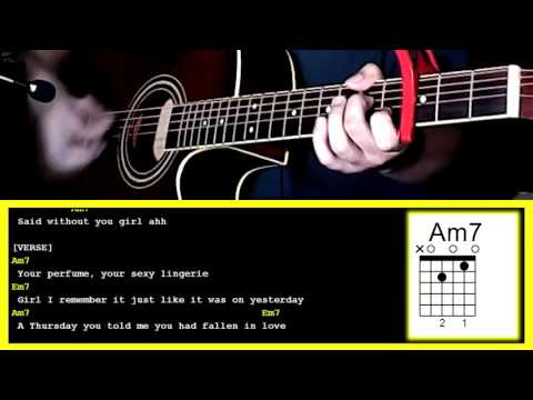Incomplete by Sisqo-Guitar Chords & Strumming Pattern - YouTube
