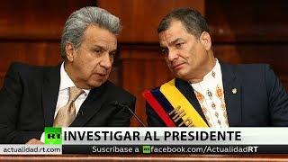 """Correa: """"Están ocultando uno de los casos de corrupción más graves de la historia de Ecuador"""""""