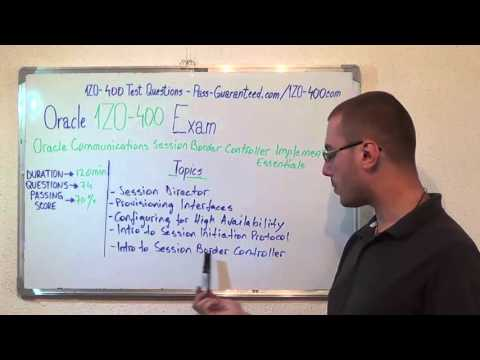1Z0-400 – Oracle Exam Session Border Test Controller Questions